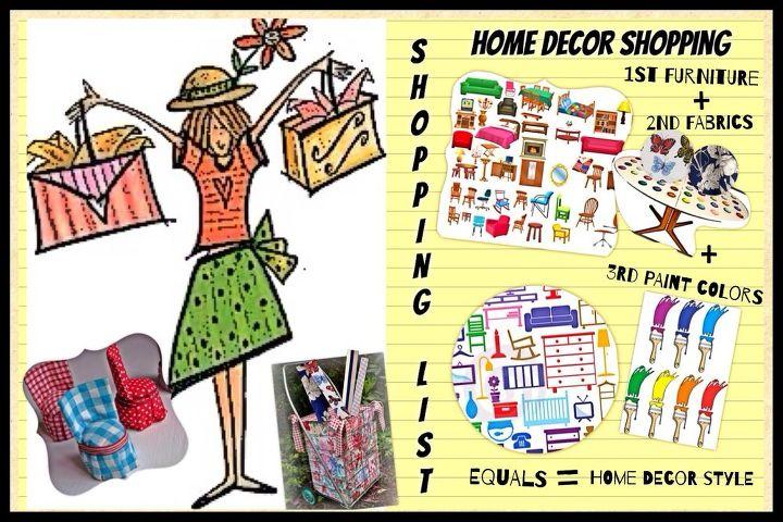 go home decor shopping the right way, home decor