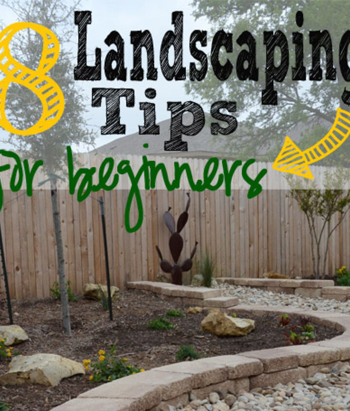how to landscape in 8 simple steps, gardening, landscape