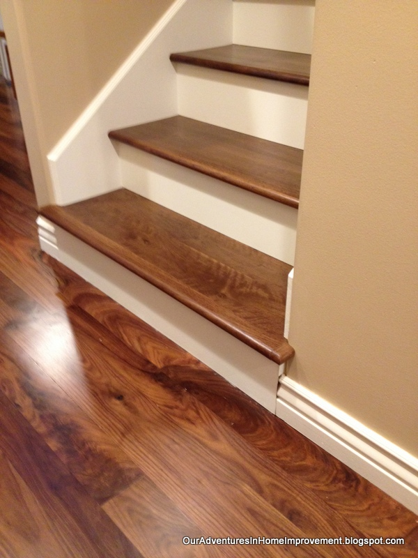 Adding wood stairs hometalk for Hardwood floors on stairs
