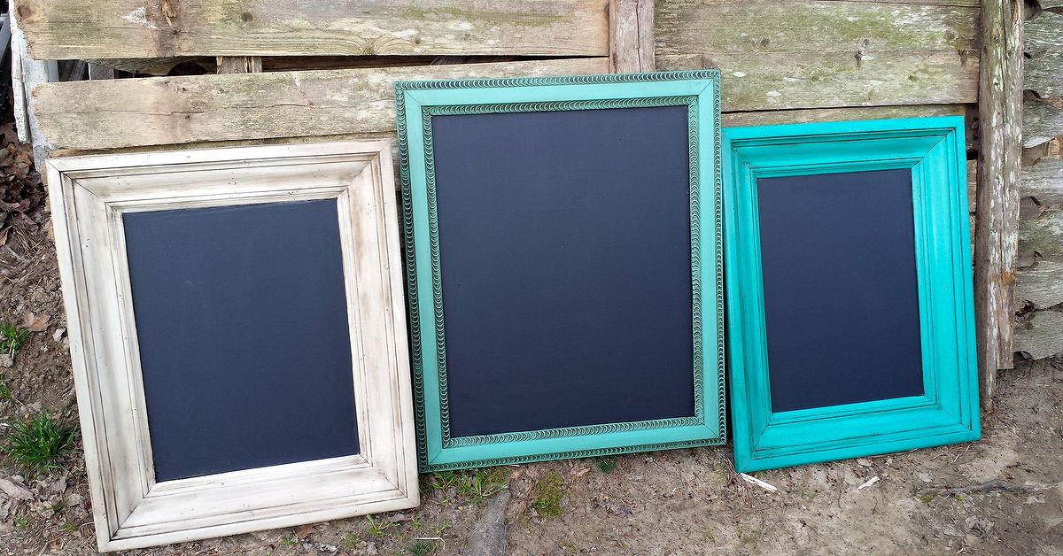 Repurposed Picture Frames | Hometalk