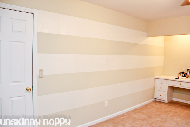 My Lazy S Guide To Painting Striped Walls Paint Colors Wall