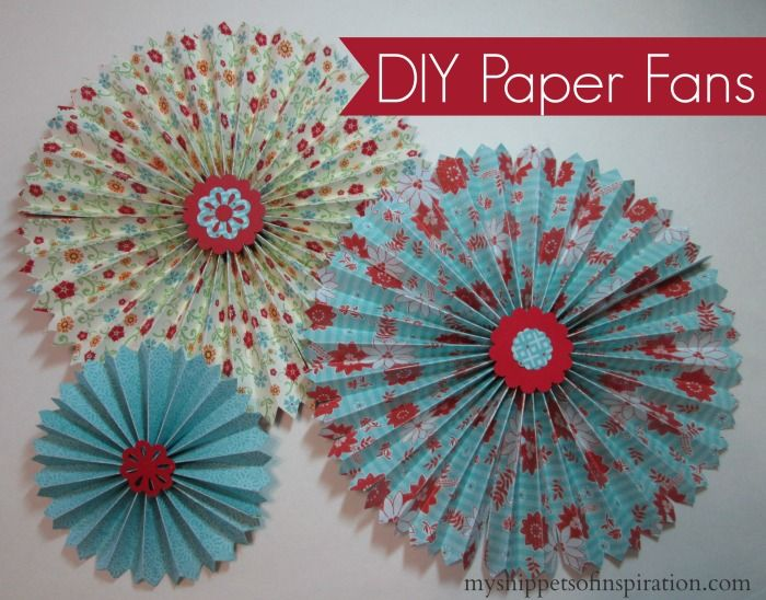 diy paper fan craft, crafts, hvac