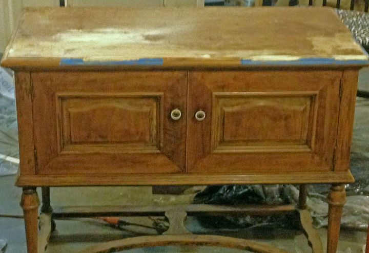 cabinet for a friend, painted furniture