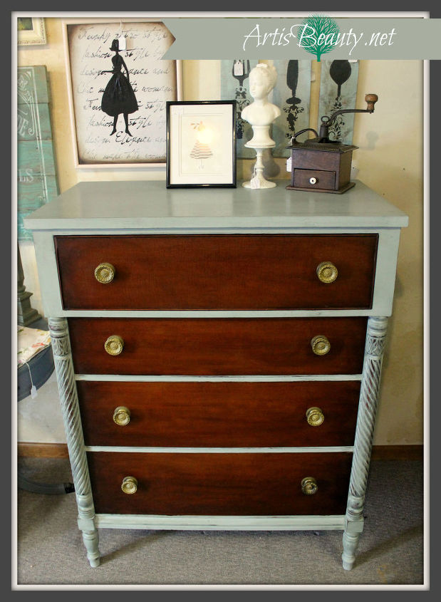 Antique Kindel Dresser Makeover And A Welcome Back Painted Furniture