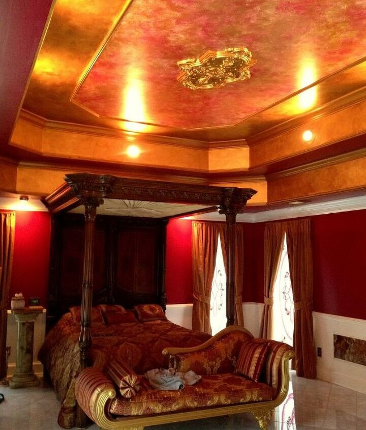 A bedroom fit for a king?