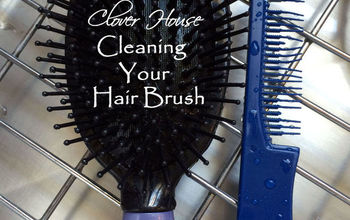 cleaning your hairbrush the easy way, cleaning tips