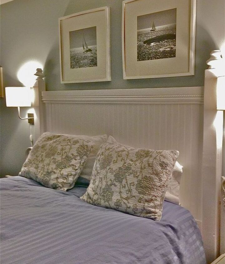 diy headboard, bedroom ideas, diy, how to, painted furniture, woodworking projects