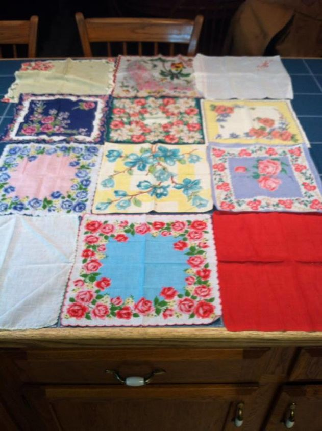 Vintage Hankies Have Found New Life As A Handmade Baby Quilt Hometalk