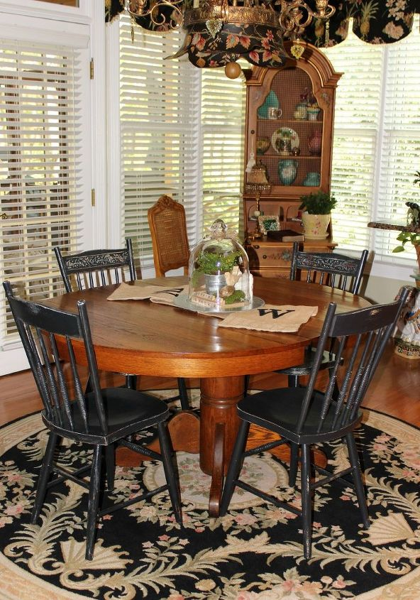 stripping an antique oak pedestal table, painted furniture, woodworking  projects - Stripping An Antique Oak Pedestal Table Hometalk