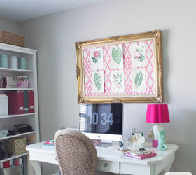 Pink Green Girly Organized Ultimate Home Office Craft Room Maekover, Craft  Rooms, Home Decor