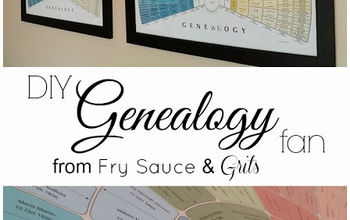 step by step genealogy fan art, crafts, home decor
