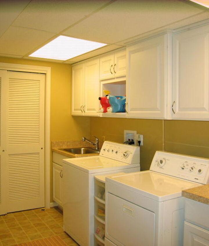 Schroeder Design/Build creates a laundry room you can hang in  www.SchroederDesignBuild.com