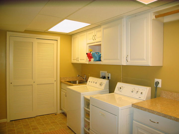 Schroeder Design/Build creates a laundry room you can hang in  www.SchroederDesignBuild.com