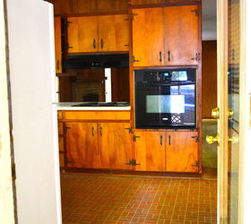 Major Cabinets #14 - Flip House 1960s Kitchen Before And After A Major Kitchen Renovation,  Countertops, Diy,