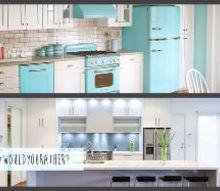 q vintage or modern kitchen, home decor, kitchen design