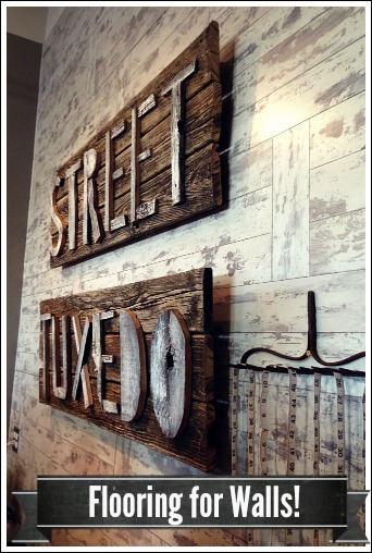 laminate flooring for wall covering, home decor, repurposing upcycling, wall decor