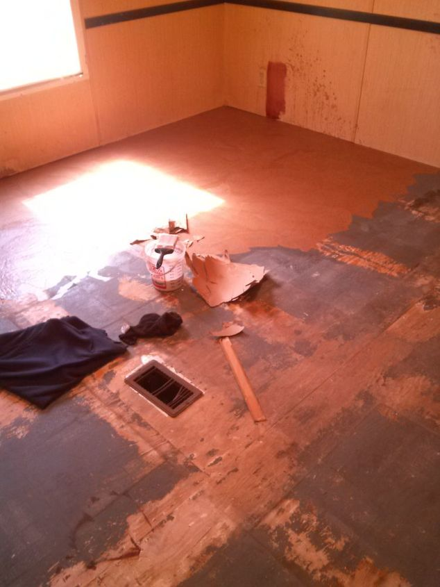 brown paper flooring a facelift for my bedroom floor  bedroom ideas  diy   flooring. Brown Paper Flooring   A Facelift For My Bedroom Floor   Hometalk