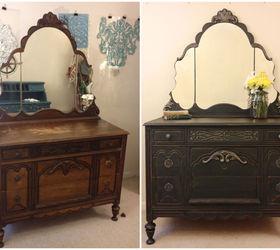 Reimagined Vintage Dresser, Chalk Paint, Painted Furniture