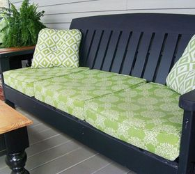 Diy Porch Furniture From Ana White Plans, Diy, Outdoor Furniture, Outdoor  Living,