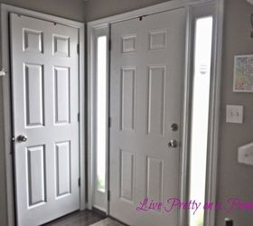 dark gray painted door doors foyer home decor painting & Dark Gray Painted Door | Hometalk