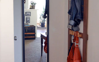 small entryway makeover, diy, foyer, home decor, how to, storage ideas
