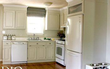 kitchen cabinet makeover for less than 250, kitchen backsplash, kitchen cabinets, kitchen design, painting