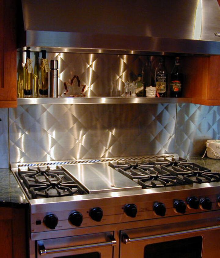 stainless steel, home decor, kitchen backsplash, kitchen design