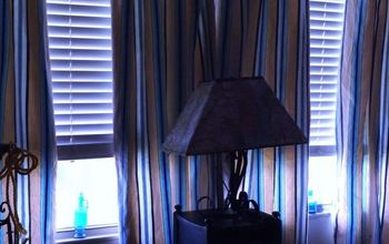 POTTERY BARN DUVET COVER INTO SUMMER CURTAINS
