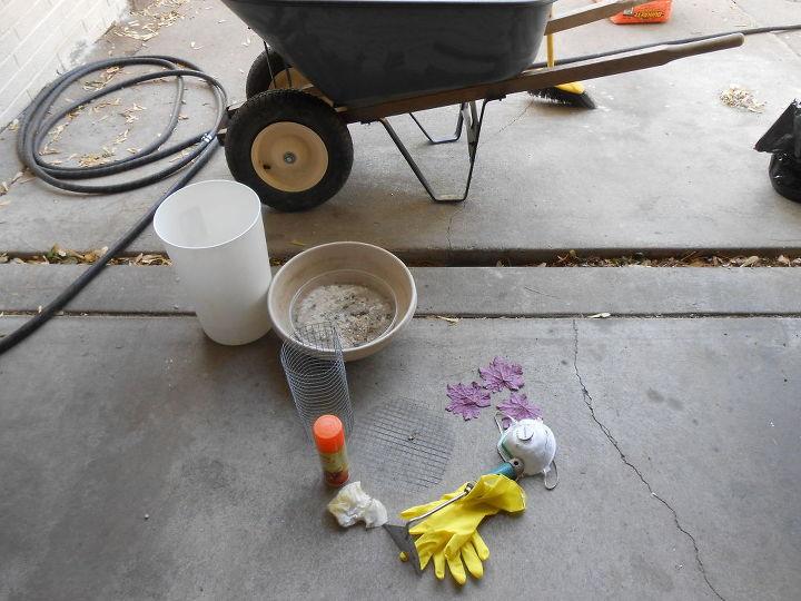 diy concrete birdbath for less than six dollars, concrete masonry, crafts, gardening, landscape, outdoor living