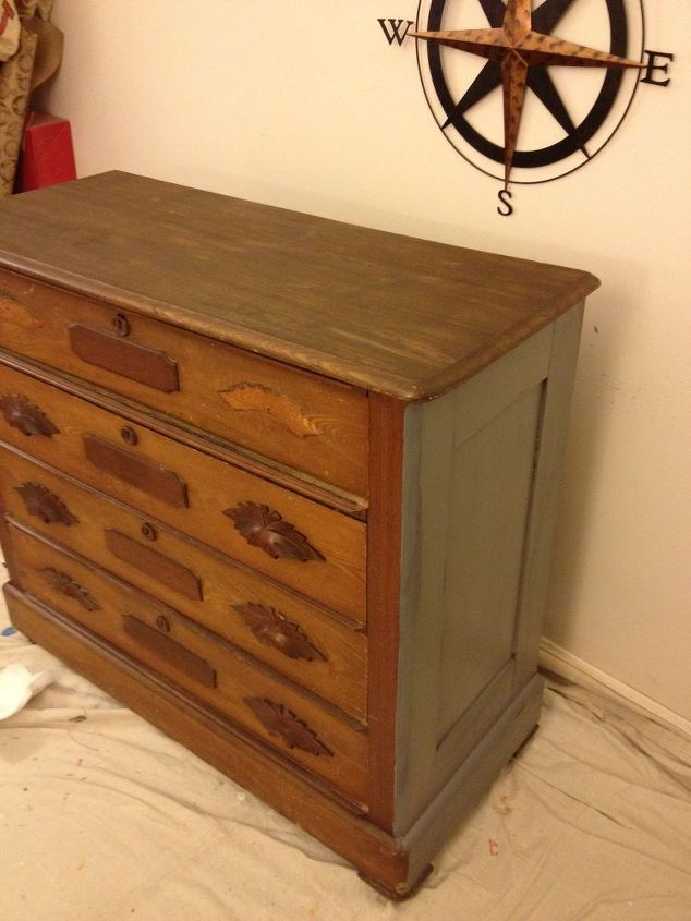 Restoration Hardware Style Dresser On A Budget Chalk Paint Painted Furniture Rustic