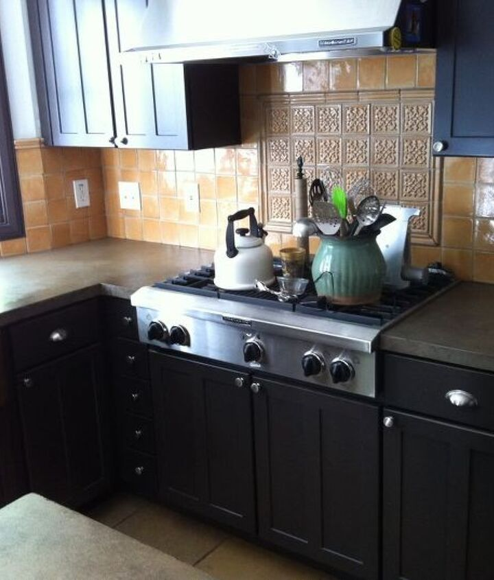 concrete countertops finished up today, concrete countertops, countertops