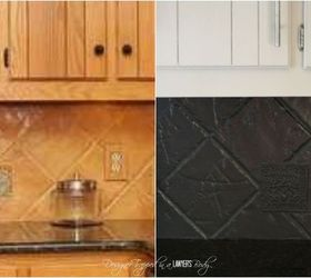 Charmant Update An Outdated Tile Backsplash With Paint, Diy, Kitchen Backsplash,  Kitchen Design,