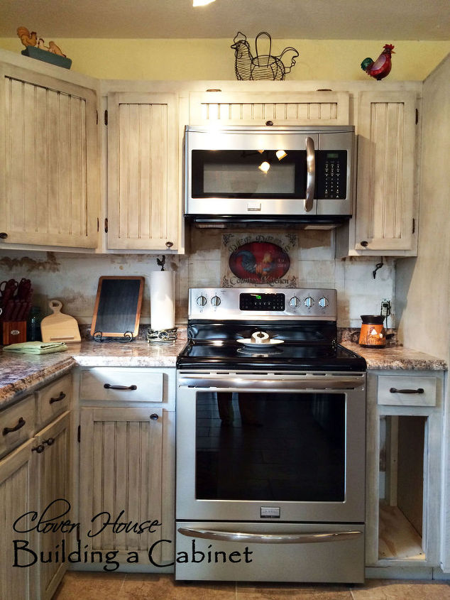 We Built a Drop-in Kitchen Cabinet | Hometalk