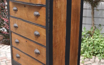Rustic Yet Sophisticated Dresser