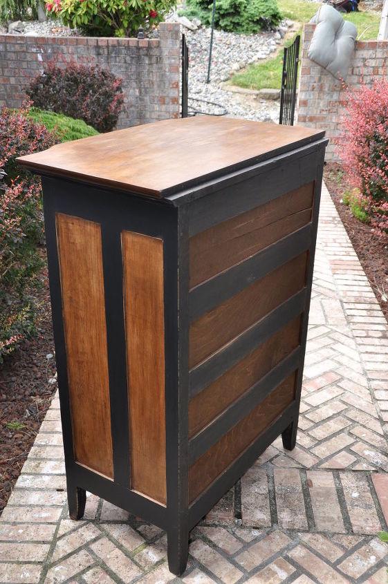 rustic yet sophisticated dresser, painted furniture, rustic furniture