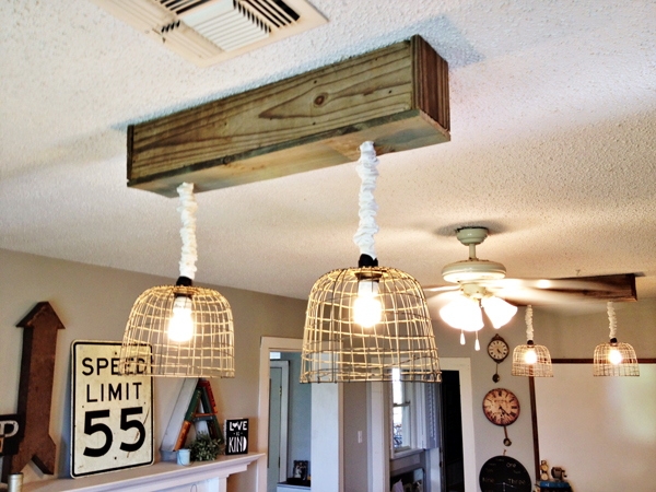 Make Your Own Light Fixtures Crafts Electrical Lighting