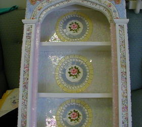 My Mosaic Pieces, Crafts, Painted Furniture, This Is A Curio Cabinet That Is
