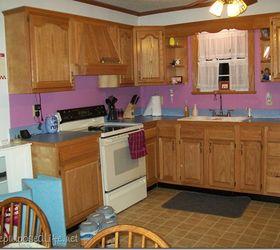 How I Painted My Oak Cabinets Hometalk