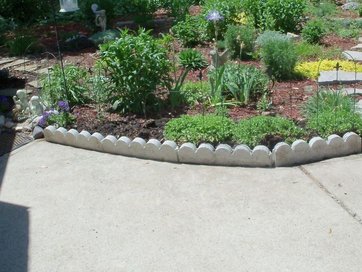 Finishing touch with edging stones hometalk for Finishing touches landscaping