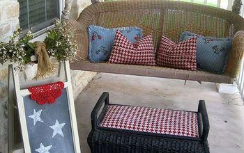 Adding Rain Boots to a Summer Porch!  #JuneGarden