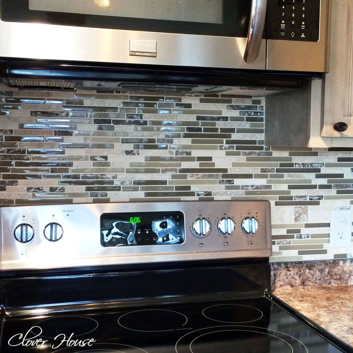 diy mosaic tile backsplash hometalk
