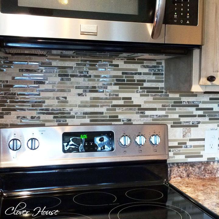 Diy Kitchen Backsplash: DIY Mosaic Tile Backsplash