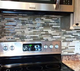 Diy Mosaic Tile Backsplash, Diy, How To, Kitchen Backsplash, Kitchen Design,