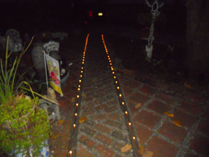lighted pathway, electrical, lighting, outdoor living, Accent Lighting in Courtyard