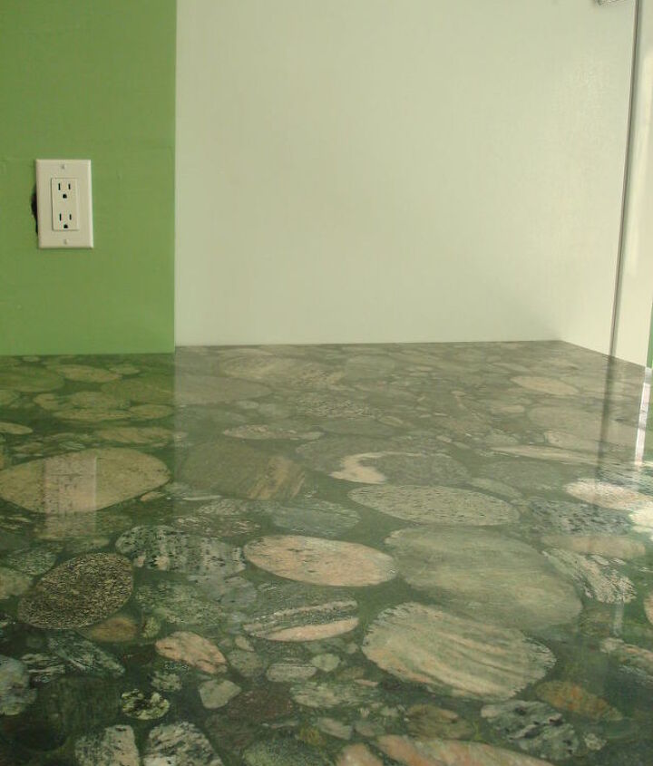 Marinace Green granite counter top.