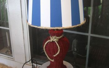 An Updated Lamp for the Summer Porch
