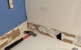 q drywall repair question, home maintenance repairs, how to, wall decor