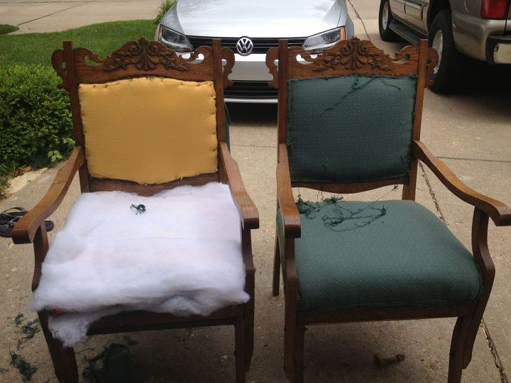 antique chairs revived this project was more than i expected, chalk paint,  painted furniture - ANTIQUE CHAIRS REVIVED… This Project Was More Than I Expected