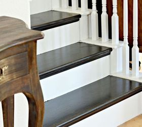 Marvelous How To Paint A Staircase Black And White With All The Details, Diy, Painting