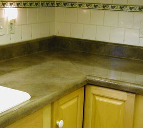 A Counter Top Make Over With Paint That Will Wow You, Countertops, Diy,
